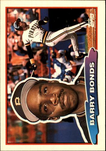 Photo of 1988 Topps Big #89 Barry Bonds