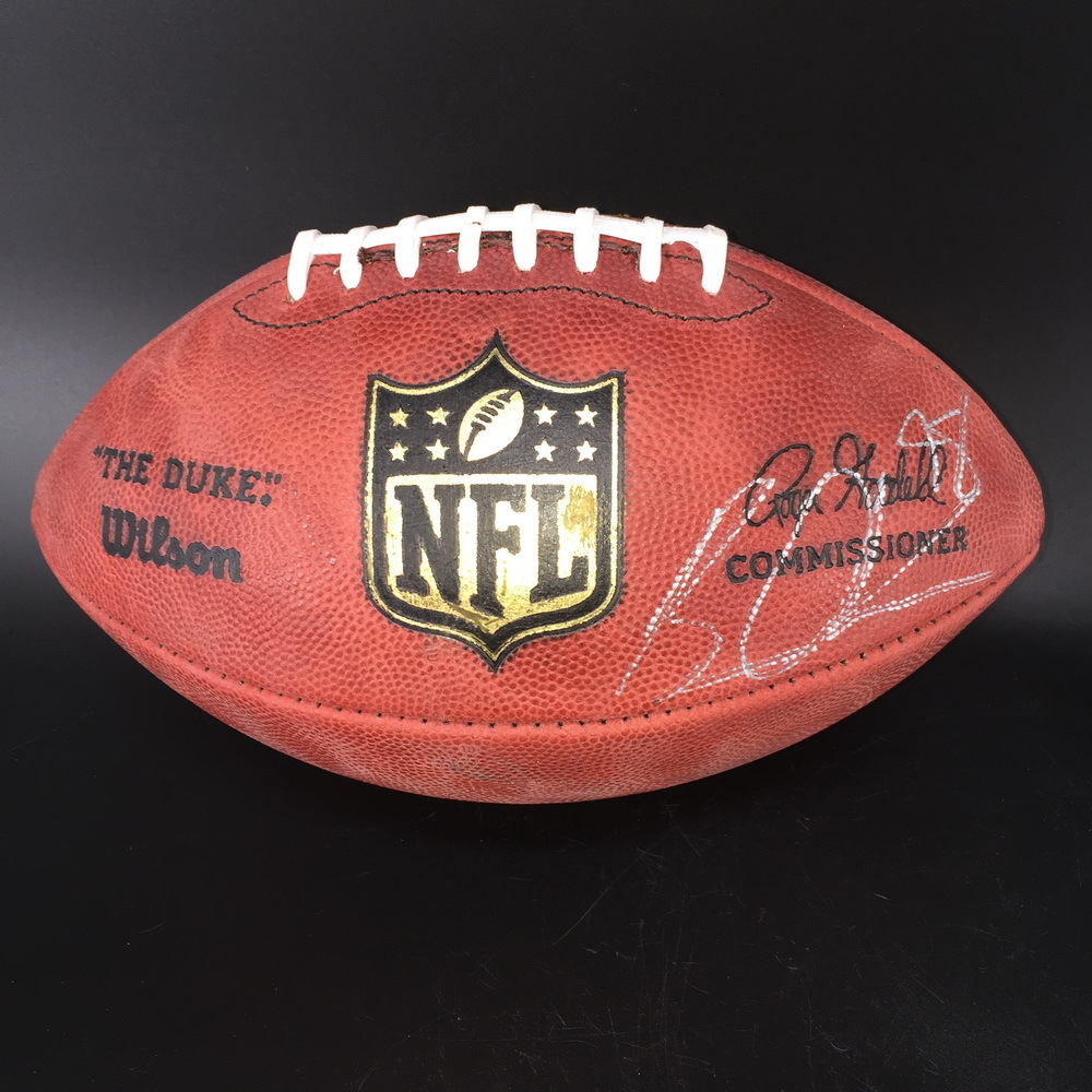 Titans - Brian Orakpo Signed Authentic Football