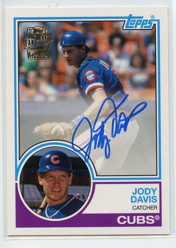 Photo of 2019 Topps Archives Fan Favorites Autographs #FFAJDA Jody Davis