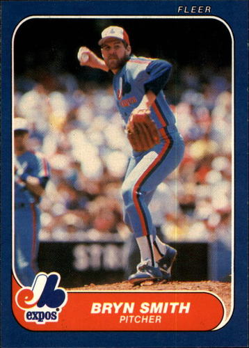 Photo of 1986 Fleer #260 Bryn Smith