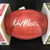 NFL - Vikings Alexander Mattison Signed Authentic Football