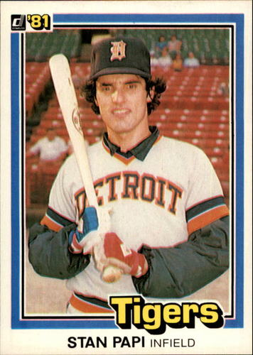 Photo of 1981 Donruss #246 Stan Papi