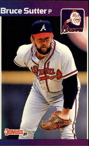 Photo of 1989 Donruss #458 Bruce Sutter