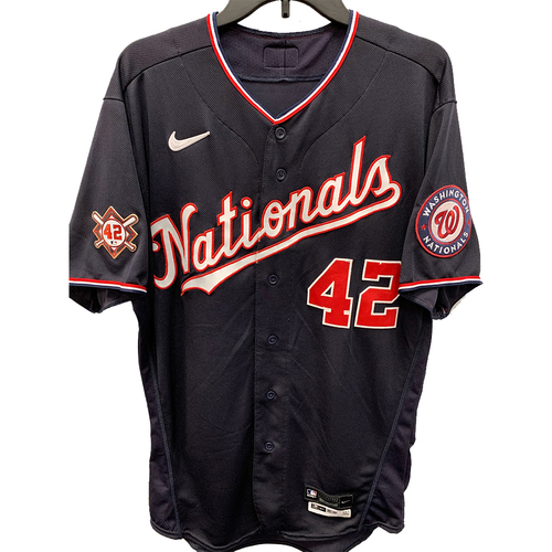 Photo of Adam Eaton - Jackie Robinson Day Game Used Jersey