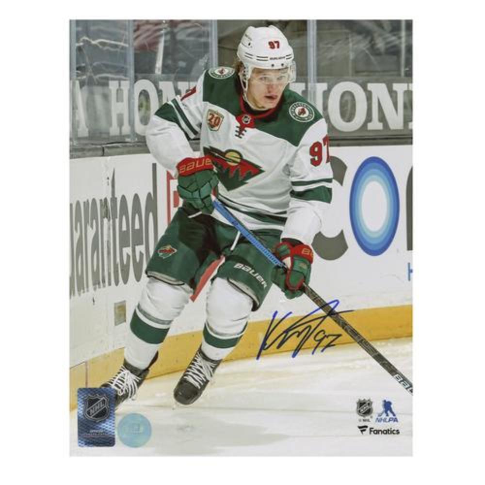 Kirill Kaprizov Minnesota Wild Autographed Hockey Rookie 8x10 Photo