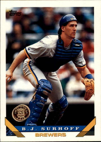 Photo of 1993 Topps Inaugural Rockies #417 B.J. Surhoff