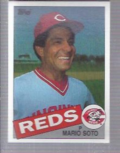 Photo of 1985 Topps #495 Mario Soto