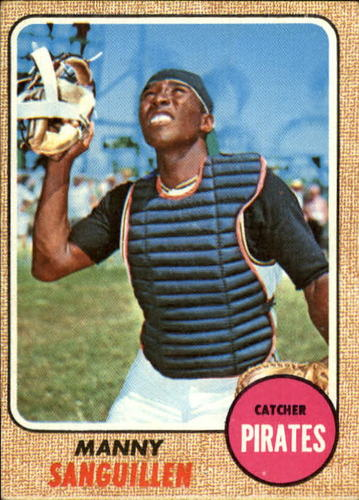 Photo of 1968 Topps #251 Manny Sanguillen RC