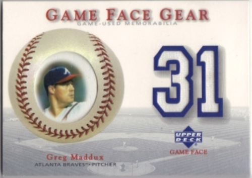 Photo of 2003 Upper Deck Game Face Gear #MPI Mike Piazza Jersey