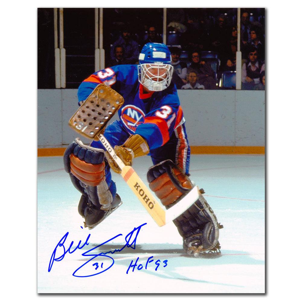 Billy Smith New York Islanders Autographed 8x10