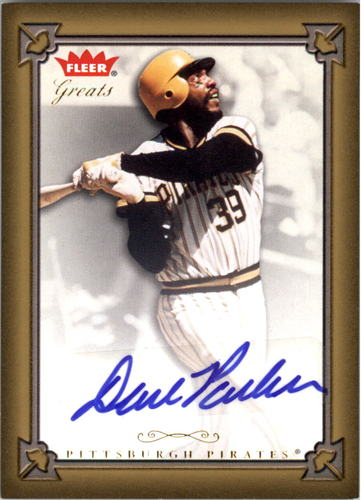 Photo of 2004 Greats of the Game Autographs #DP Dave Parker G1