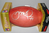 NFL - 49ers KYLE JUSZCZYK SIGNED AUTHENTIC FOOTBALL