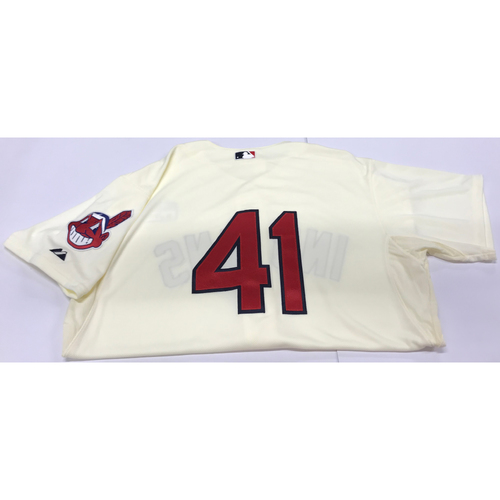 Photo of Carlos Santana Team-Issued 2014 Alternate Home Jersey