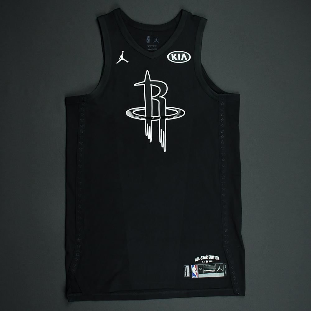 f57383a5 James Harden - 2018 NBA All-Star Game - Team Steph - Game-Worn ...