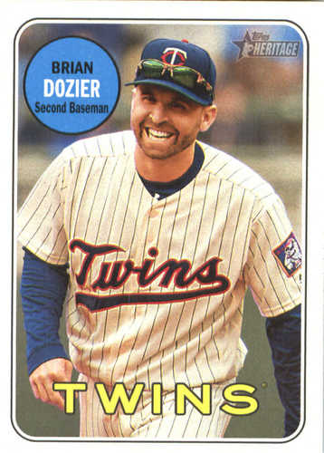 Photo of 2018 Topps Heritage #356 Brian Dozier