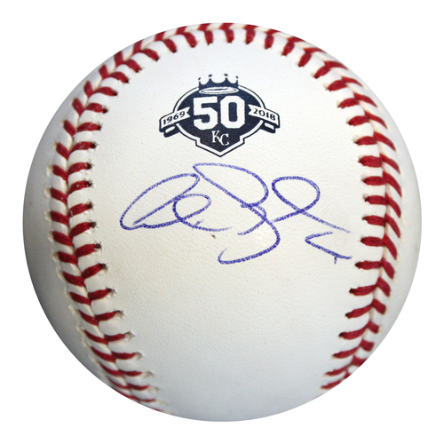 Photo of Autographed 50th Season Baseball: Alex Gordon