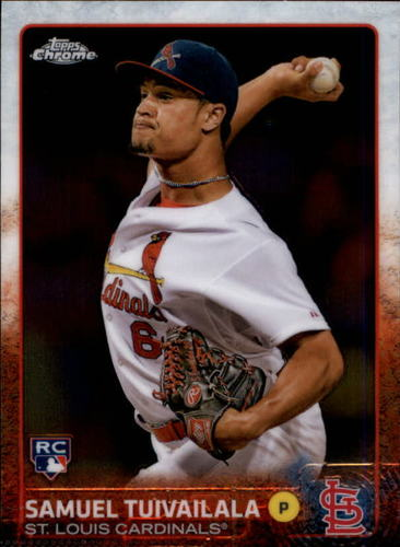 Photo of 2015 Topps Chrome #174 Samuel Tuivailala RC