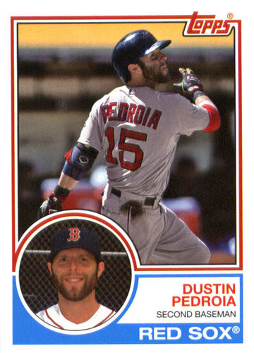 Photo of 2015 Topps Archives #246 Dustin Pedroia
