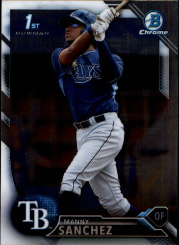 Photo of 2016 Bowman Chrome Prospects #BCP28 Manny Sanchez