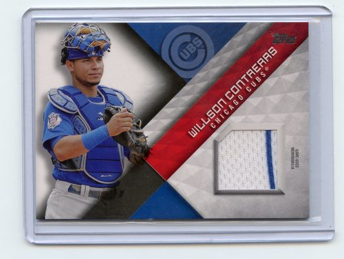 Photo of 2018 Topps Major League Materials #MLMWC Willson Contreras S2