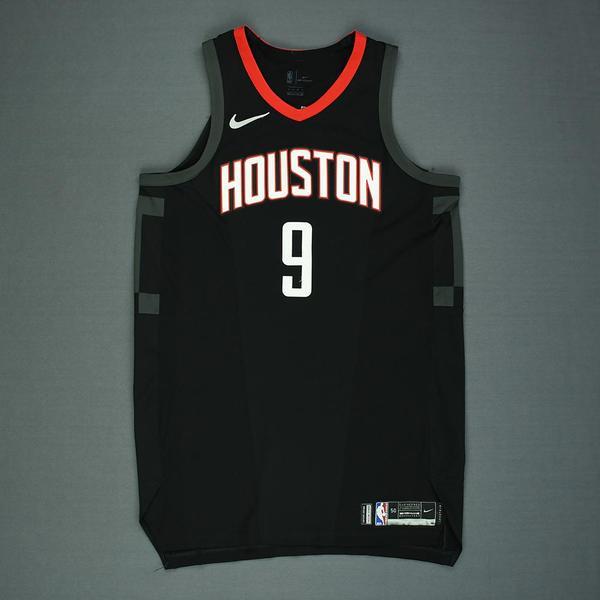 Zhou Qi - Houston Rockets - Game-Worn Rookie Season  Statement  Jersey (Not  Debut) - Worn in 2 Ga. 173e04337