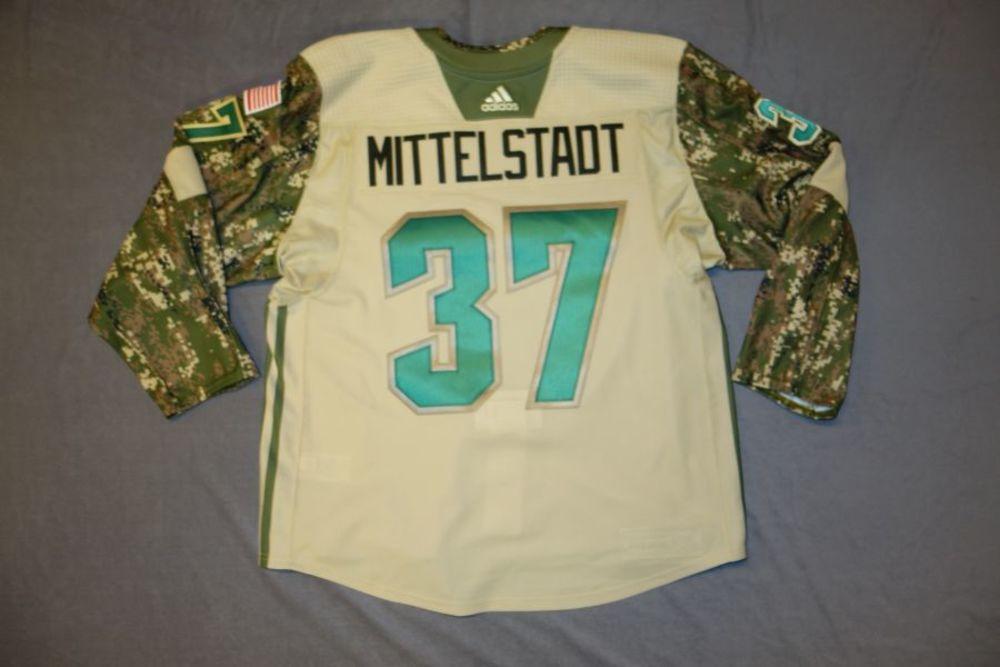 ... ireland casey mittelstadt 2018 buffalo sabres military appreciation  jersey 9c79e d64b5 3205745f9