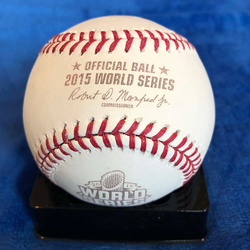 Photo of UMPS CARE AUCTION: 2015 World Series Crew Signed Baseball
