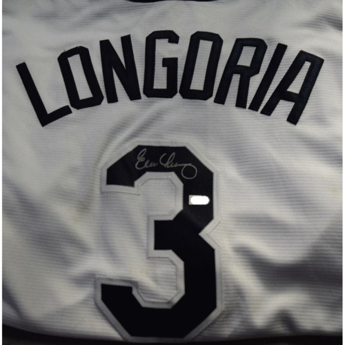 Photo of Rays Baseball Foundation Auction: Evan Longoria Autographed Replica Jersey - Size 2XL
