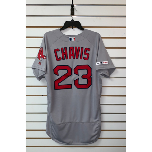 Michael Chavis Team Issue 2019 Road Jersey