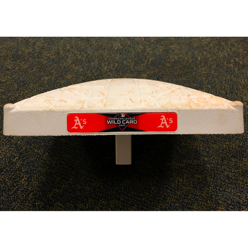 Photo of Game-Used A.L. Wild Card Game 2B (innings 7-9)