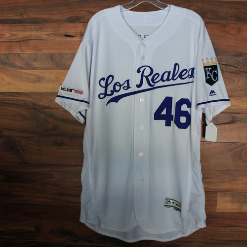 Photo of Game-Used Jersey: Dale Sveum (Size 48 - KC vs MIN 6/21/19)