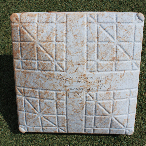 Photo of Game-Used 1st Base - (Innings 6-9 - LAA @ KC - 4/27/19)