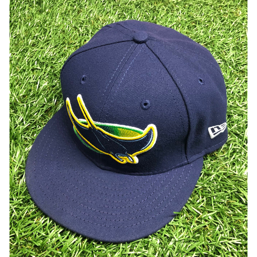 Photo of Team Issued Devil Rays Cap: Chad Mottola #51