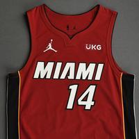 Tyler Herro - Miami Heat - Game-Worn - Statement Edition Jersey - Christmas Day 2020