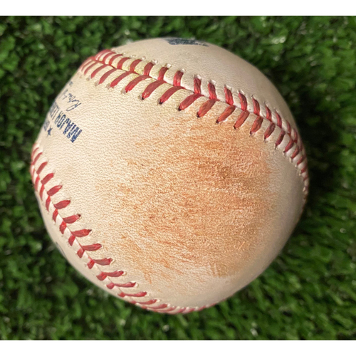 Photo of Travis d'Arnaud Hit Single Ball off Brusdar Graterol - 10/17/21 NLCS Game 2 - Also pitched to Dansby Swanson