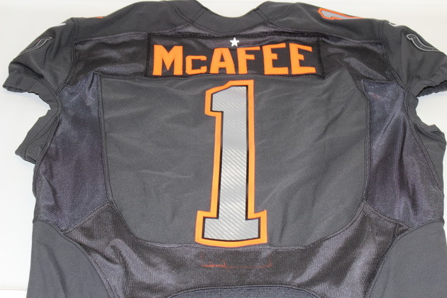 low priced 77a78 13679 NFL Auction | NFL - COLTS PAT MCAFEE 2015 TEAM IRVIN GAME ...