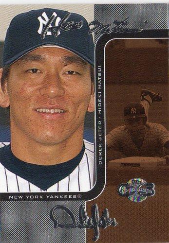Photo of 2006 Topps Co-Signers Changing Faces Silver Bronze #55C Hideki Matsui/Derek Jeter