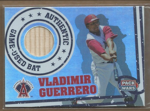 Photo of 2005 Topps Pack Wars Relics #VG Vladimir Guerrero Bat B