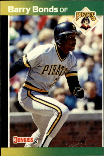 Photo of 1989 Donruss #92 Barry Bonds