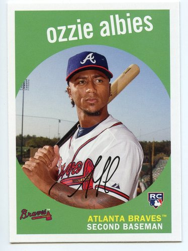 Photo of 2018 Topps Archives #18 Ozzie Albies RC