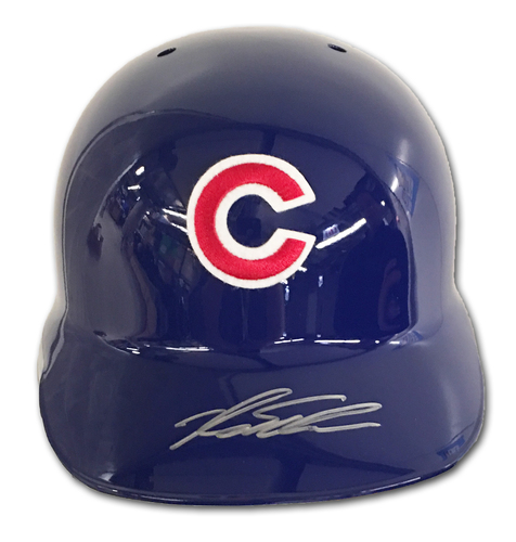 Photo of Kyle Schwarber Autographed Batting Helmet