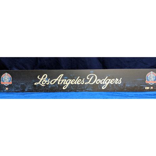 Photo of Los Angeles Dodgers Regular Season Team-Issued Locker Tag