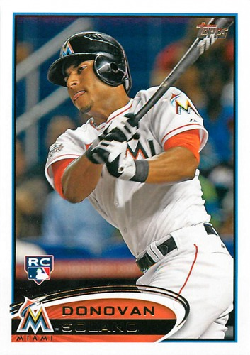 Photo of 2012 Topps Update #US185 Donovan Solano RC