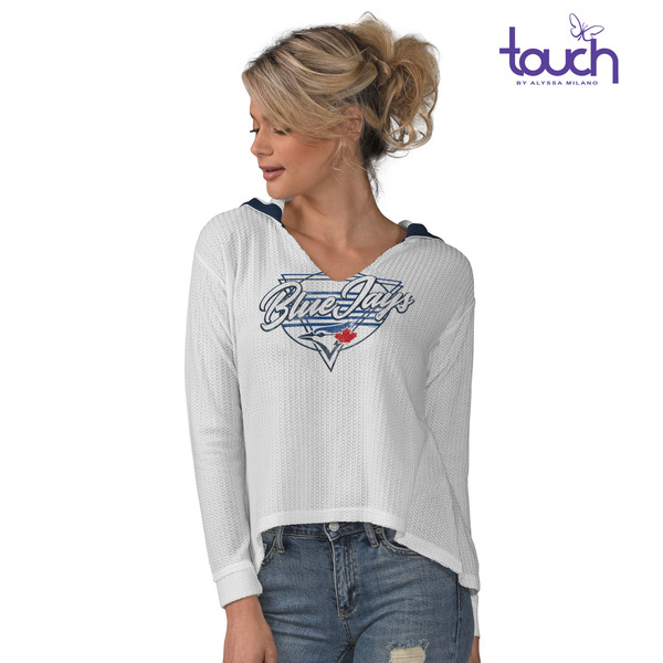 Toronto Blue Jays Women's Summer Sun Hoodie by Touch