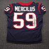 STS - Texans Whitney Mercilus Signed Game Used Jersey Size 42 (11/26/18)