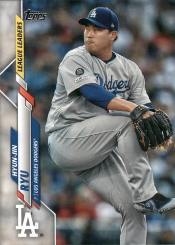 Photo of 2020 Topps #86 Hyun-Jin Ryu LL