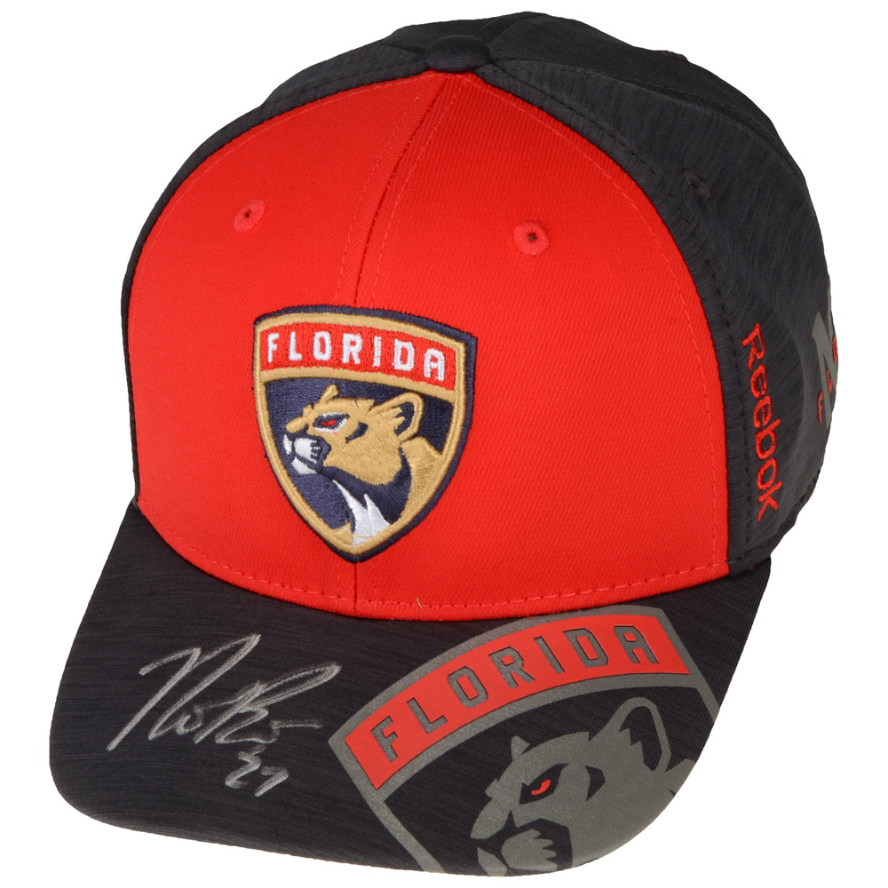 Nick Bjugstad Florida Panthers Autographed Cap