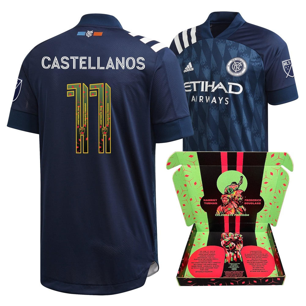 Valentin Castellanos New York City FC Match-Used & Signed