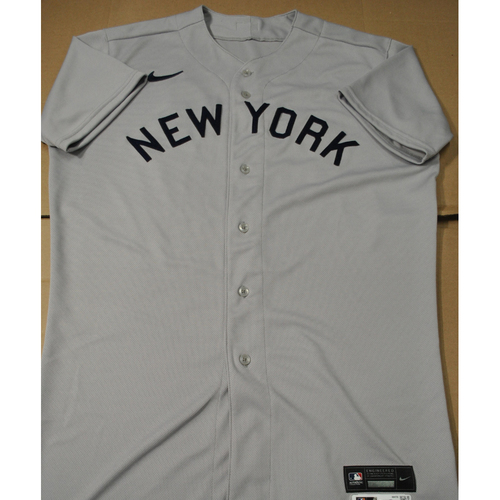 Photo of 2021 New York Yankees vs. Chicago White Sox in Dyersville, Iowa - Team-Issued 1919 Throwback Jersey - Aroldis Chapman - Size 46TC