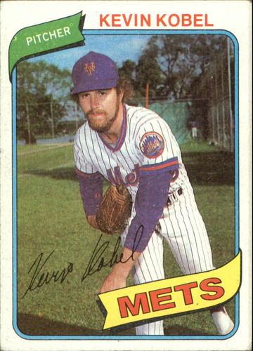 Photo of 1980 Topps #189 Kevin Kobel